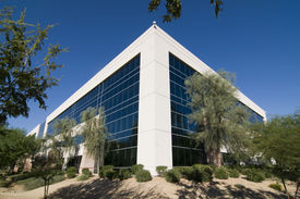 picture of building exterior  - Modern office facility - JPG