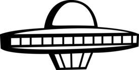 image of ovni  - ufo space ship - JPG
