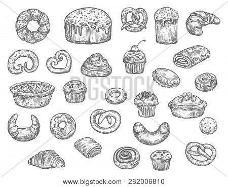 Bread Buns Cakes And Pastry