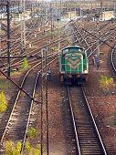 Wechsel Diesel Lokomotive 1027 08