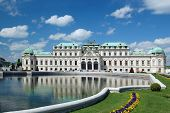 Summer palace Belvedere in Vienna