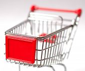 image of department store  - Shopping cart - JPG