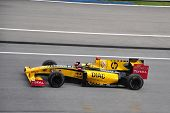 SEPANG, MALAYSIA - APRIL 4 : Renault F1 driver Robert Kubica of Poland speeding during the Formula 1
