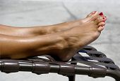 Tanning Toes -2