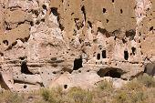 Indians ruins at Bandolier