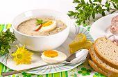 Zurek Is A Decent Polish Easter Soup