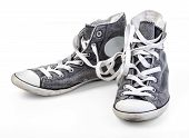 Shoe, Sports Shoe, Canvas Shoe. Isolated On White poster