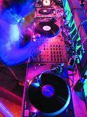 DJ's Music Equipment