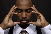 Thinking Businessman