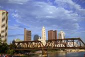 Columbus, Ohio along the Scioto River