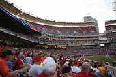 Crowd at the Cincinnati Reds game