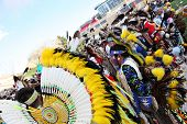 ALBUQUERQUE, NEW MEXICO-APRIL 24:  The Gathering of Nations is the largest Indian Pow Wow in North America  and it was held at the University of New Mexico on April 24, 2010 in Albuquerque .