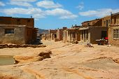 Acoma Indian Reservation, also known as Sky City, outside Albuquerque, New Mexico
