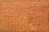 grungy red brick wall background