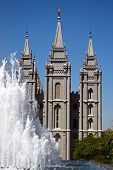 The Salt Lake Temple is the largest (of more than 120 around the world) and best-known temple of The Church of Jesus Christ of Latter-day Saints.