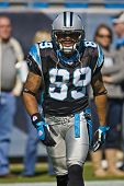 CHARLOTTE, NC - OCT 19:  Panthers Wide Receiver, Steve Smith, at the New Orleans Saints Vs Carolina