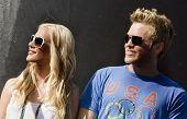 FONTANA, CA - AUG 29:  Heidi Montag and boyfriend Spencer Pratt Reality TV celebrities at The Pepsi 500  on Aug 29, 2009 in Fontana, California
