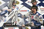 LOUDON, NH - JUNE 27:  Jimmie Johnson wins the LENOX Tools 301 race at the New Hampshire Motor Speed