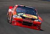 INDIANAPOLIS, IN - JULY 23:  Jamie McMurray practices for the Brickyard 400 race at the Indianapolis
