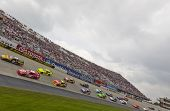 DOVER, DE - MAY 15:  The NASCAR Sprint Cup Series teams take for the FedEx 400 benefiting Autism Spe