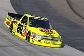 BRISTOL, TN - AUG. 24: Matt Crafton (88) takes to the track for a practice session for the O'Reilly