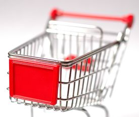pic of department store  - Shopping cart - JPG