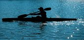 Rower On Paddle