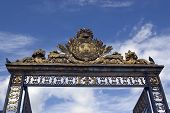 Detail Of Gate To Palace Versailles