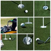 Golf Collage