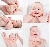 Massagem do bebê