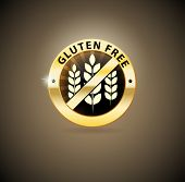 Golden gluten free icon