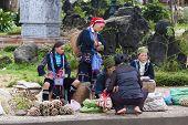 Hill tribal vendors
