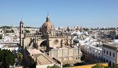 Cathedral In Jerez De La Frontera, Spain