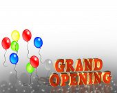 Grand Opening Sign Template
