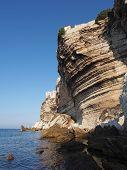 Bonifacio Cliff, Corsica, France