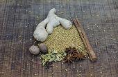 An Arrangement Of Ayurvedic Spice