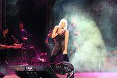 Ajda performs live