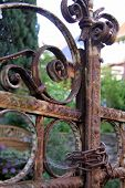 Rusty Iron Gate