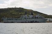 HMS Bulwark, Portland Harbour