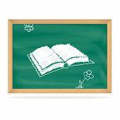 Schoolbestuur met een afbeelding