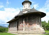 Moldovita painted church, Romania