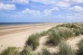 Sand Dunes Holkham Beach North Norfolk