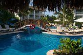 Pool Scene At Cozumel Resort