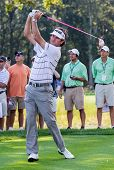 Bubba Watson At The 2012 Barclays