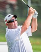 Kevin Stadler At The 2012 Barclays