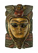 Ethnic Wood Mask