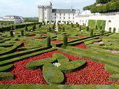 Gardens At The Chateau De Villandry