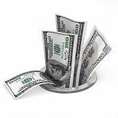 Dólares para drenaje