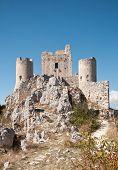 Постер, плакат: Старый замок в небе леди Хок замок