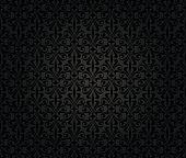 Black Vintage Wallpaper Background Design